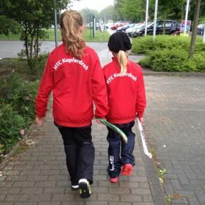 Mädchen-Bambini sammeln Erfahrung